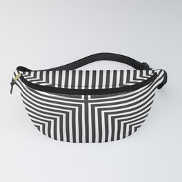 Converge Four Bold Black Fanny Pack
