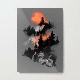 A samurai's life Metal Print