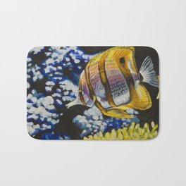 Copperband Butterflyfish Bath Mat