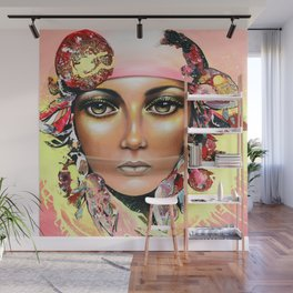 Gypsy's Secret by Sonia Laurin Wall Mural