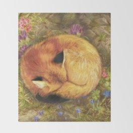 The Cozy Fox Throw Blanket