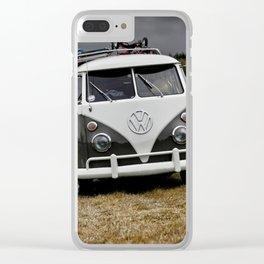Splitscreen Campervan Clear iPhone Case