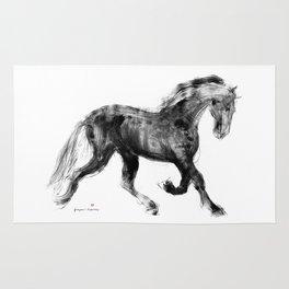 Horse (Friesian Colt) Rug