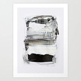 Neutral Tone 2 Art Print