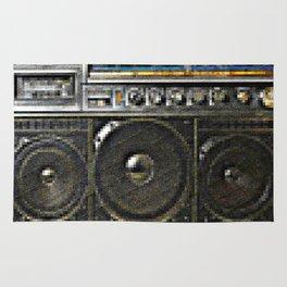 Magnavox D-8443 Boombox  Rug