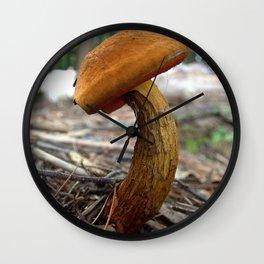 Mushroom J Wall Clock