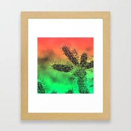Santa Fe Dusk Framed Art Print