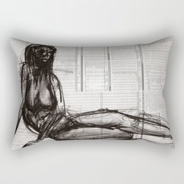 Relaxing by the Sea Rectangular Pillow