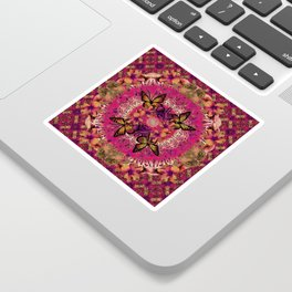 Victoria Mandala Collage Sticker