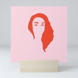 Self love Girl Illustration Mini Art Print