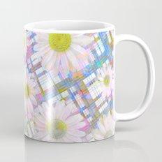 Daisy Plaid Mug