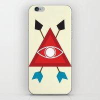 illuminati iPhone & iPod Skins featuring Illuminati by Lucas de Souza