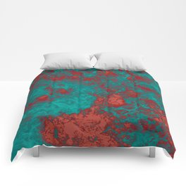 Color Waves Comforters