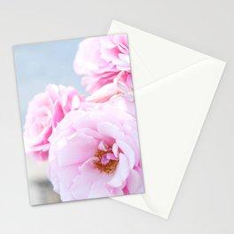 Blushing Roses Stationery Cards