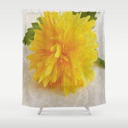 Kerria Japonica Shower Curtain