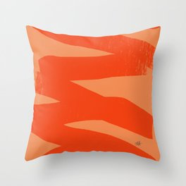 Ambience 035 modern Throw Pillow