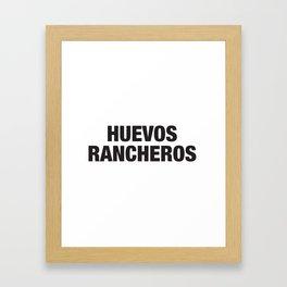 Huevos Rancheros Framed Art Print