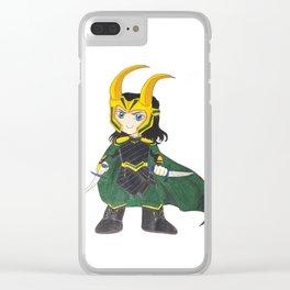 Loki - Thor: Ragnarok Clear iPhone Case
