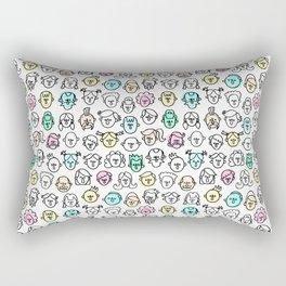 people Rectangular Pillow