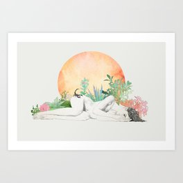 Born In The Sun (Scorpio) Art Print