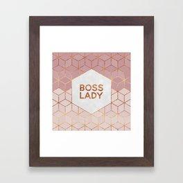 Boss Lady / 2 Framed Art Print