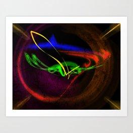 Una via ad caelum Art Print
