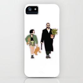 Leon the professional movie flat art iPhone Case
