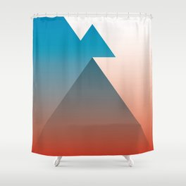 Triangle 1 Shower Curtain