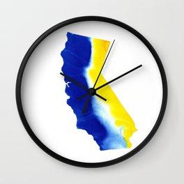 California Warrior 2 Wall Clock
