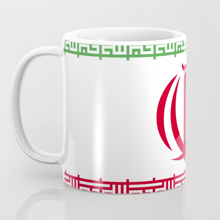 Iran flag emblem Coffee Mug