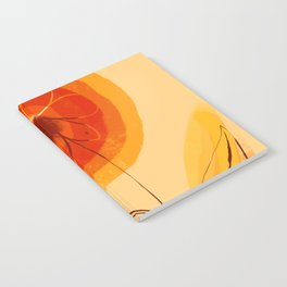 Sunshine California happy poppy bright flower holiday sunshine Notebook