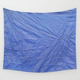 BLUE TARP Wall Tapestry