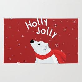 Polar Bear - Holly Jolly Rug