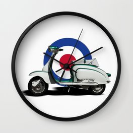 Mod scooter Wall Clock
