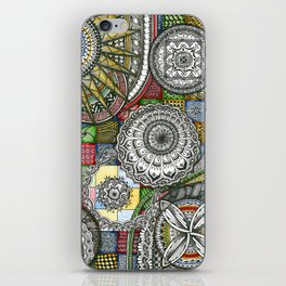 The Patterns iPhone Skin