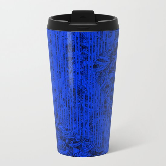Dark entanglement Metal Travel Mug