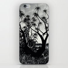 Upward towards consciousness while rooted in the ground iPhone Skin