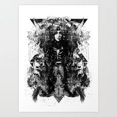 Mandroid Art Print