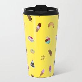 sugar sweet desserts print Travel Mug