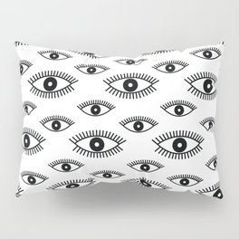 Opened Eye Pillow Sham