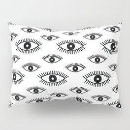 Opened Eye Pillow Sham