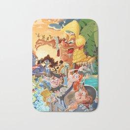 Pirates on treasure-hunt adventure Bath Mat