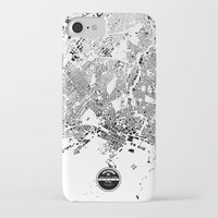 oslo iPhone & iPod Cases featuring OSLO by Maps Factory
