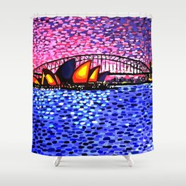 Sydney Harbour Shower Curtain