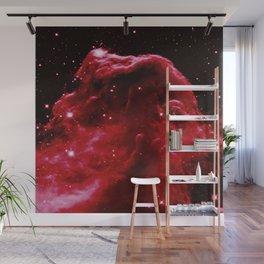 Red Horsehead NEbula Wall Mural
