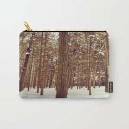 Winter in the Poconos Carry-All Pouch