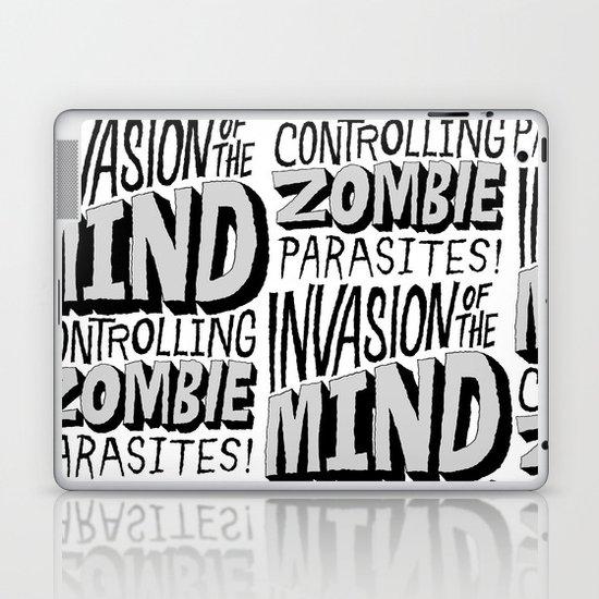 Zombie Parasites Laptop & iPad Skin