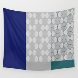Lace Shapes 01 Geometric Minimalist Graphic Wall Tapestry
