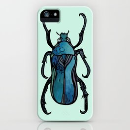Blue Beetle- Teal iPhone Case