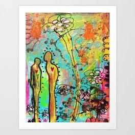 Heart to Art Art Print
